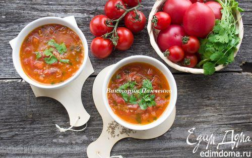 Рецепт Томатный магрибский суп