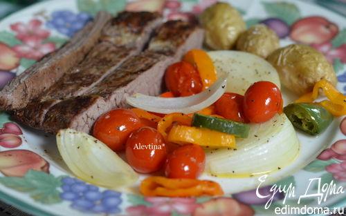Рецепт Стейк с томатной сальсой