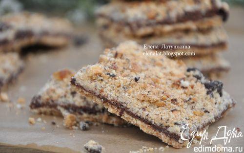 Рецепт Печенье с шоколадом и орехами