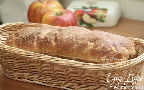 Рецепт Яблочный хлеб с розмарином