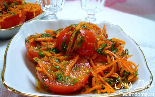 Рецепт Помидоры по-корейски