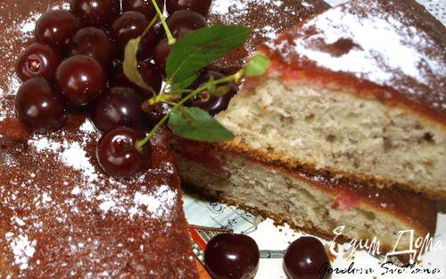 Рецепт Пирог с вишневым сиропом