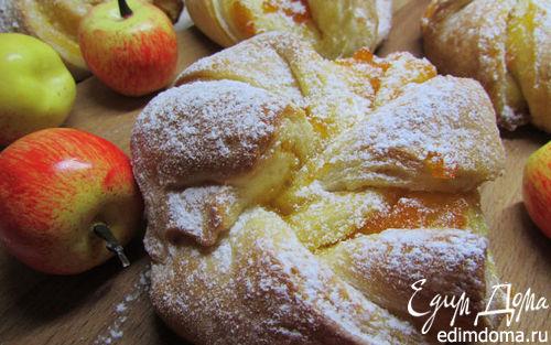 Рецепт Булочки с абрикосовым джемом