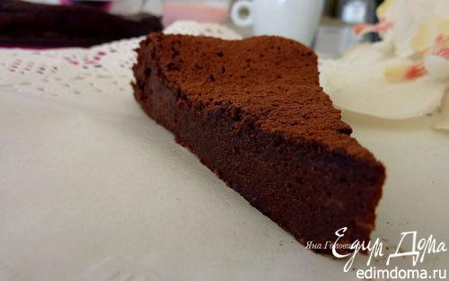 Рецепт Шоколадный торт без муки
