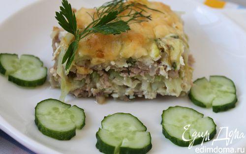 Рецепт Запеканка из капусты и фарша