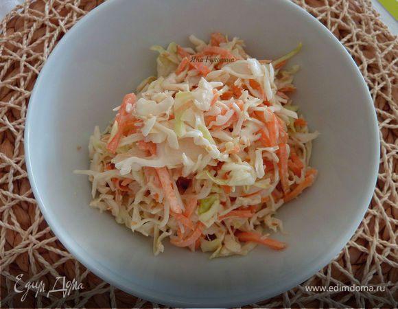 Азиатский салат с капустой