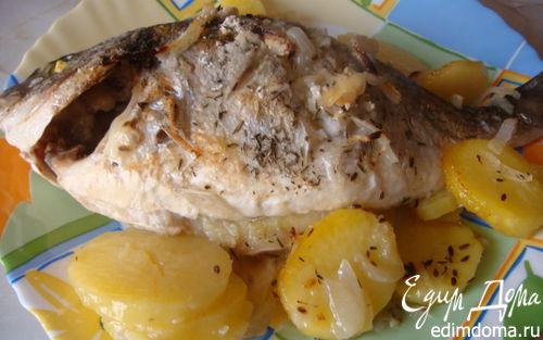 Рецепт Дорадо с картофелем