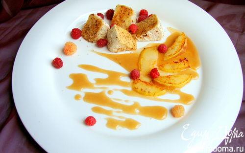 Рецепт Закуска из горячего сыра бри