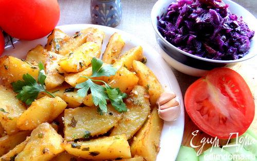 Рецепт Запеченный картофель со специями