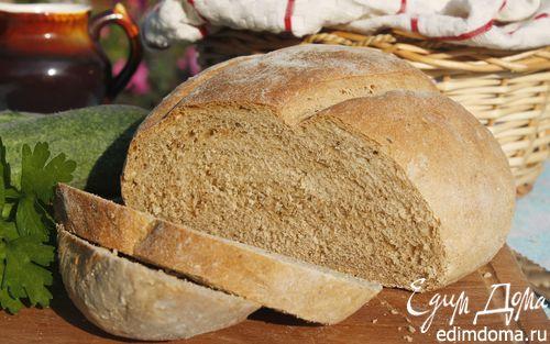 Рецепт Хлеб пшенично-ржаной на сыворотке