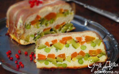 Рецепт Диетический куриный террин с овощами