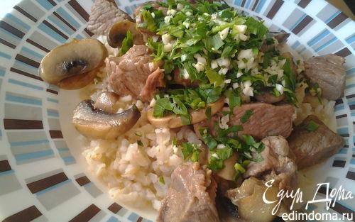 Рецепт Рагу из телятины с грибами