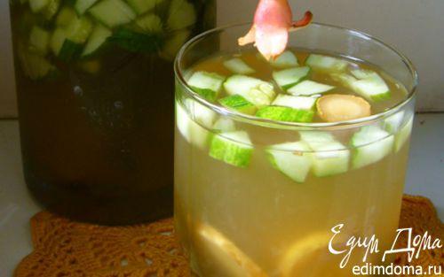 Рецепт Огуречно-имбирный лимонад