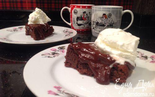 Рецепт Шоколадный торт с миндалем