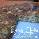 Пирог из слоеного теста с капустной начинкой