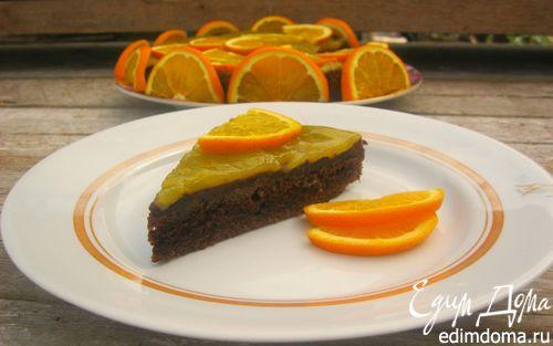 Рецепт Шоколадно-апельсиновый торт