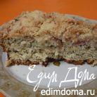 Ревеневый пирог с ванильной крошкой и маком