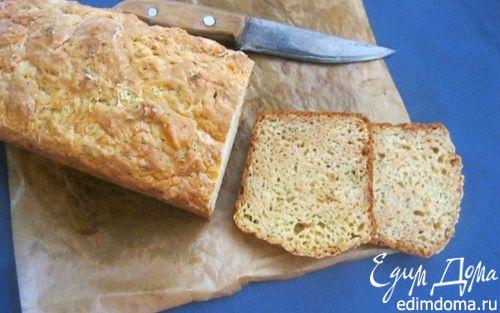 Рецепт Хлеб на пиве с сыром и укропом