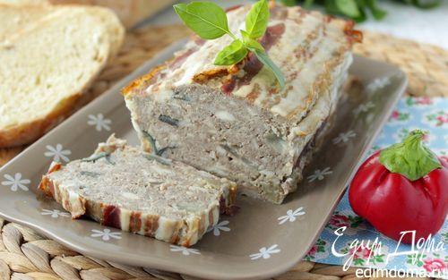 Рецепт Мясной террин с баклажаном