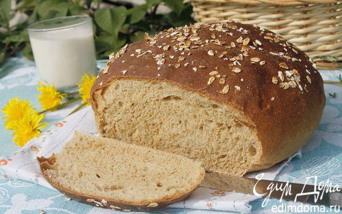 Рецепт Хлеб с овсяной мукой