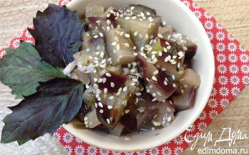 Рецепт Маринованные баклажаны в мультиварке
