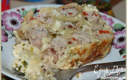 Рецепт Каннеллони под сливочно-яичным соусом