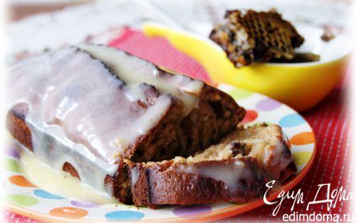 Рецепт Медовый кекс (леках) под карамельным соусом