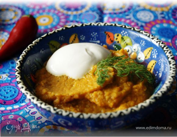 Согревающий морковный суп-пюре