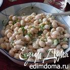 Фасоль с кедровыми орешками