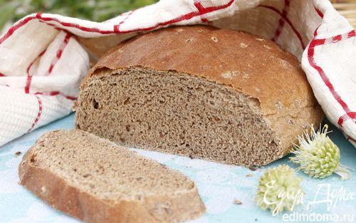 Рецепт Хлеб с льняной мукой