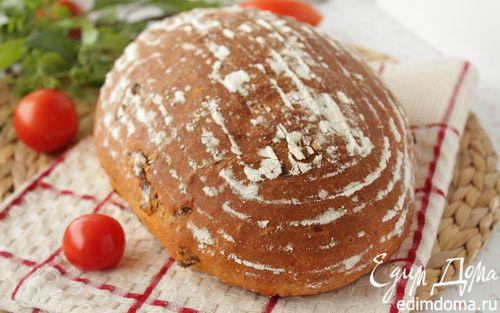 Рецепт Хлеб с вялеными помидорами