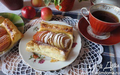 Рецепт Французские слойки к завтраку