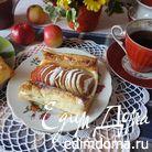 Французские слойки к завтраку