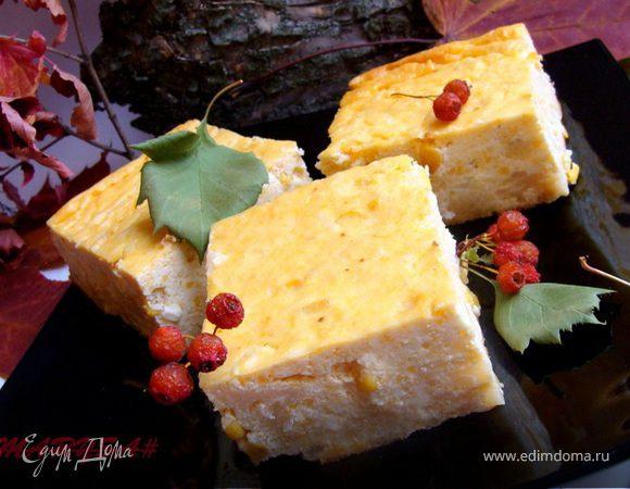 Творожно-сырная запеканка с цветной капустой