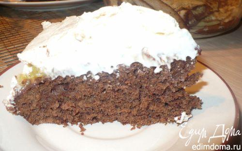 Рецепт Шоколадный торт со взбитыми сливками