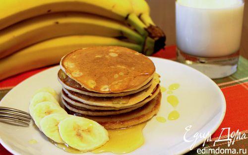 Рецепт Тонкие банановые панкейки