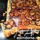 Сливовый пирог с маковой начинкой