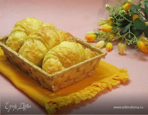 Сырные круассаны