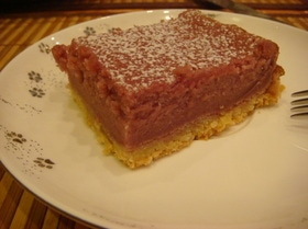 Пирог из ягодного сока