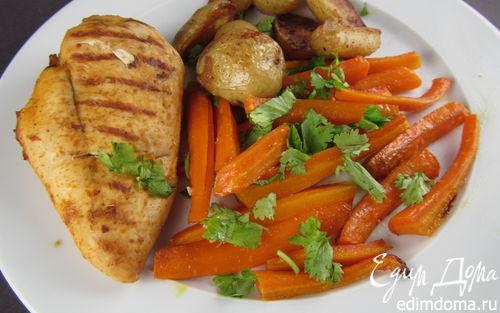 Рецепт Гарнир из пряной моркови