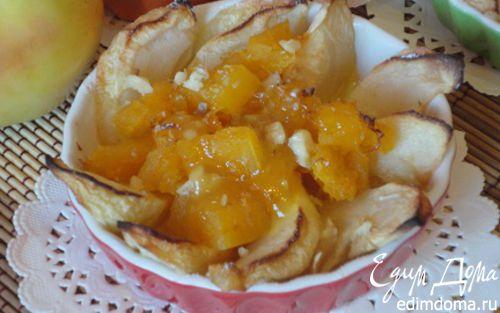 Рецепт Тыквенно-яблочный десерт