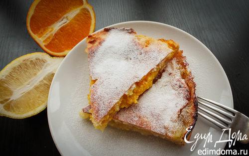 Рецепт Лимонно-апельсиновый пирог