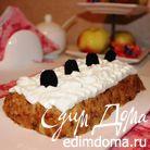 Ленивый яблочный торт