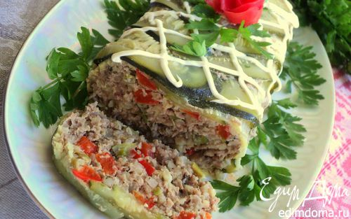 Рецепт Террин с овощами