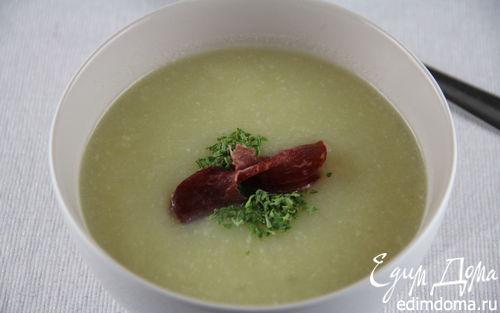 Рецепт Суп-пюре из сельдерея и лука-порея