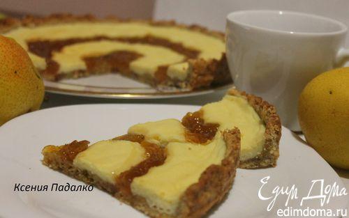 Рецепт Пирог с творогом и джемом