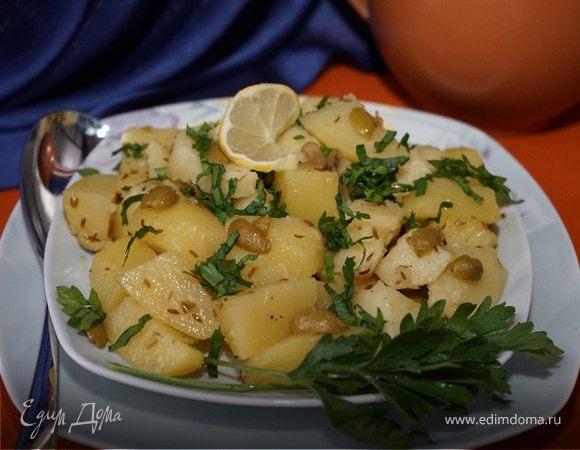 Жареный картофель по-мароккански