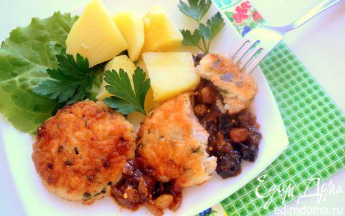 Рецепт Котлеты рыбные с пикантным соусом