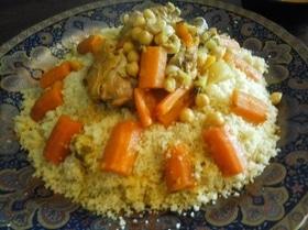 Марокканский кускус с курицей