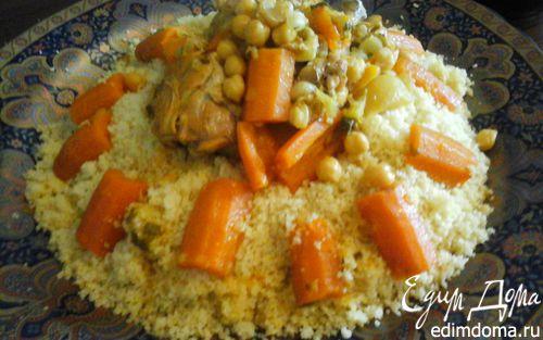 Рецепт Марокканский кускус с курицей